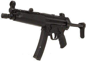 Are Dr. Michael Land's submachine gun-toting ways crazy or what?