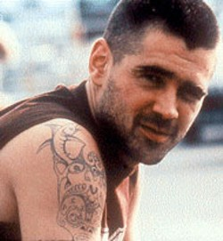 TOM COLLINS / IFC FILMS - ARMED AND DANGEROUS Colin Farrell makes his - mark in Intermission