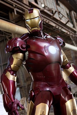 ZADE ROSENTHAL / PARAMOUNT PICTURES & MARVEL ENTERTAINMENT - ARMOR ALL: Robert Downey Jr. has a blast playing Tony Stark in Iron Man.