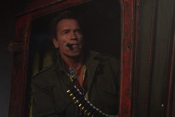 LIONSGATE - Arnold Schwarzenegger in The Expendables 2