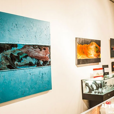 Arthur Brouthers' <em>Beneath</em> exhibit at Gallery Deep, 2/7/2014
