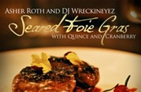 Mixtape Review: Asher Roth's Seared Foie Gras with Quince and Cranberry