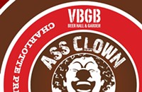 Ass Clown comes to VBGB Beer Hall & Garden