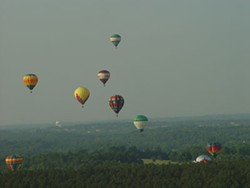 CAROLINA BALLOONFEST - At last year's Balloonfest, the balloons made it in the sky.