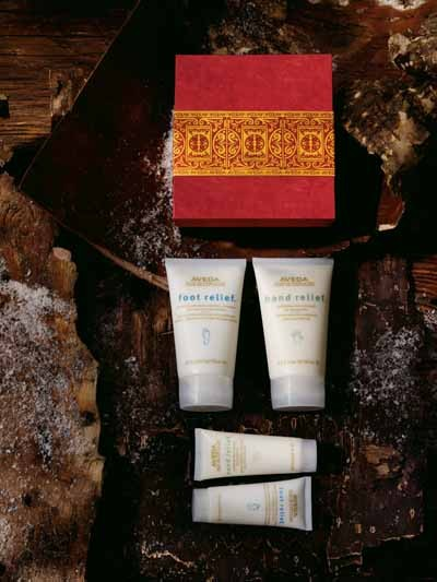 Aveda Institute Charlotte - Ritual of Relief gift set - Holiday gift sets wrapped and ready to give! Spa packages and gift cards also available. - All services performed by supervised students. - 1520 South Blvd., Ste 150. 704-333-9940
