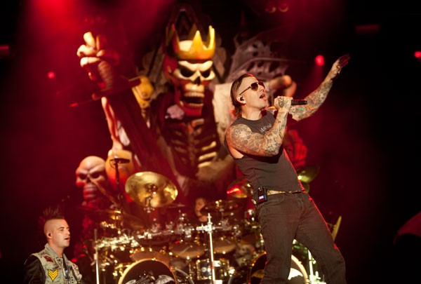 Avenged Sevenfold at Carolina Rebellion at Charlotte Motor Speedway on May 3.