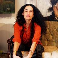 BALLOON GIRL: Artist Martique Lorray