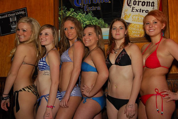 Bar Bikini Bull Riding47