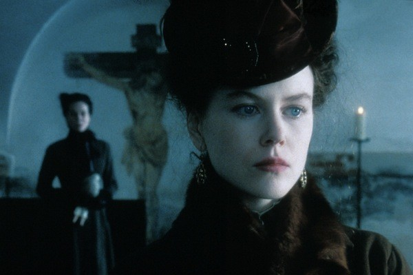 Barbara Hershey (background) and Nicole Kidman in The Portrait of a Lady (Photo: Shout! Factory)