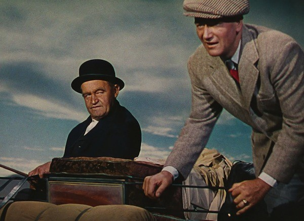 Barry Fitzgerald and John Wayne in The Quiet Man (Photo: Olive Films)