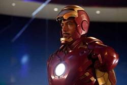 FRANCOIS DUHAMEL / PARAMOUNT & MARVEL - BEHIND THE MASK: Robert Downey Jr. as Tony Stark in Iron Man 2.