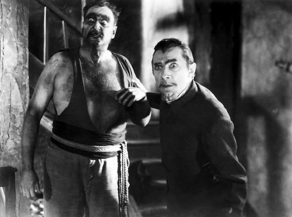 Bela Lugosi (right) in White Zombie (Photo: VCI)