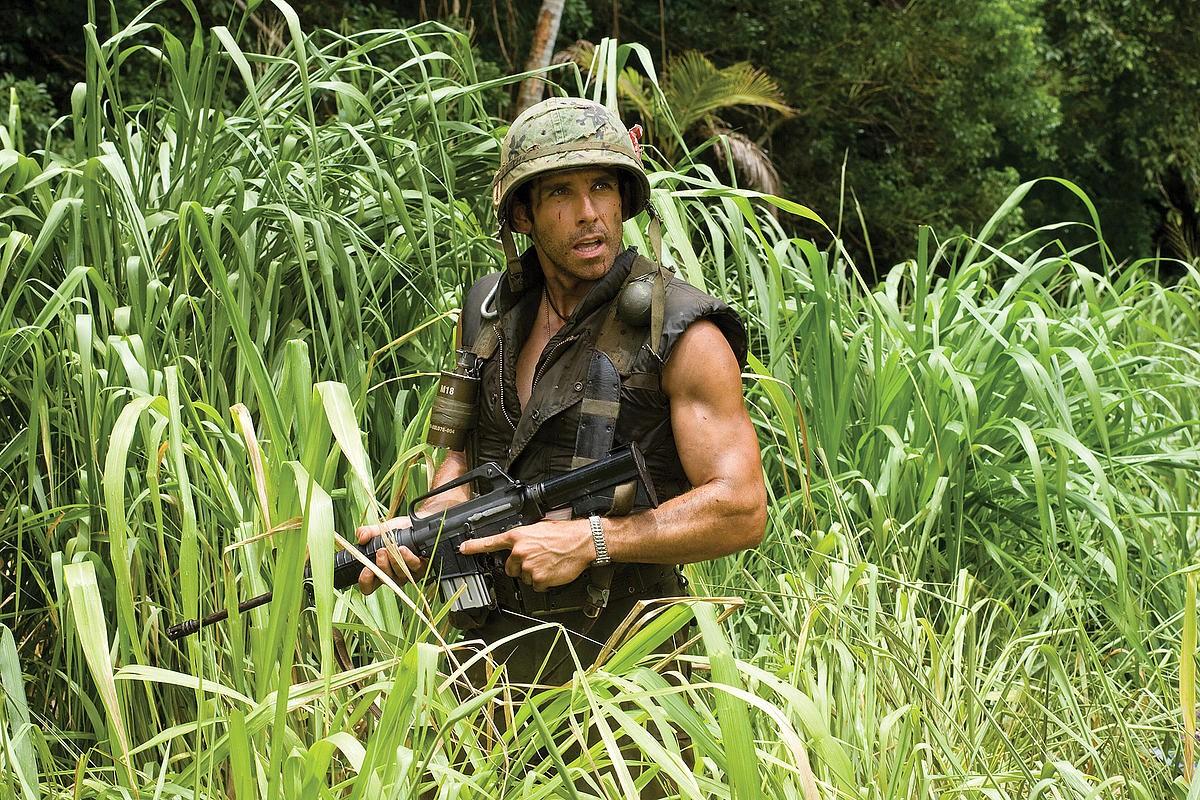 Ben Stiller, seen here in Tropic Thunder
