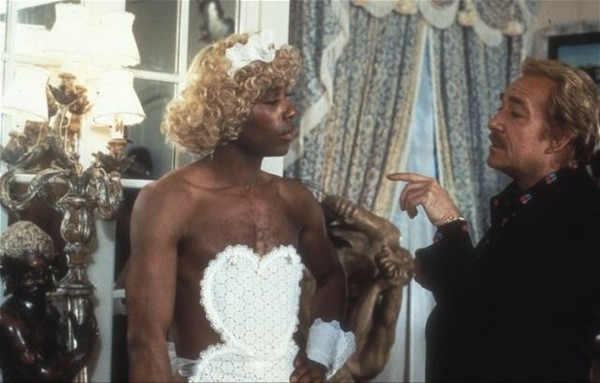 Benny Luke and Ugo Tognazzi in La Cage aux Folles (Photo: Criterion)