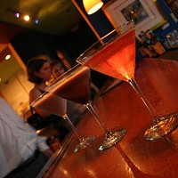 BEST HAPPY HOUR & BEST MARTINI SELECTON: Therapy Cafe