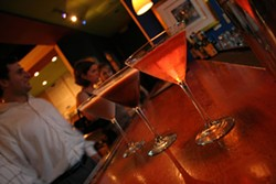 CATALINA KULCZAR - BEST HAPPY HOUR & BEST MARTINI SELECTON: Therapy Cafe