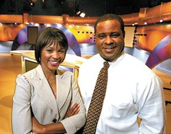 BEST LOCAL TV ANCHOR AND BEST LOCAL TV SPORTS ANCHOR Lenise Ligon and Delano Little - RADOK