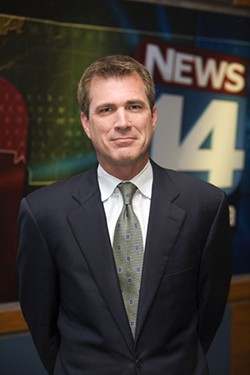 PHOTO BY ANGUS LAMOND - BEST LOCAL TV ANCHOR: Robert Boisvert, News 14 Carolina