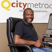 BEST LOCAL WEBSITE/BLOG: Glenn Burkins, editor of QCityMetro.com