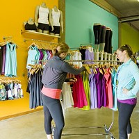 BEST NEW STORE (OPENED IN LAST 12 MONTHS): Lululemon Athletica