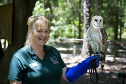 PHOTO BY ANGUS LAMOND - BEST PLACE TO GET BACK TO NATURE: Carolina Raptor Center