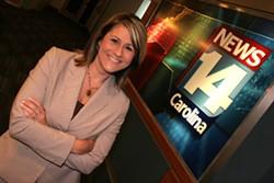 CATALINA KULCZAR - BEST TV ANCHOR Mercer Merrill