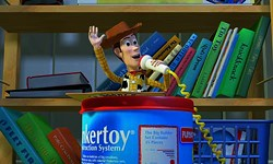 DISNEY & PIXAR - BIG ANNOUNCEMENT: The Toy Story movies are newly available on DVD and Blu-ray.