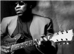 MARK SMALLING - Big Bill Morganfield at the Double Door on Saturday