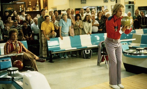 Bill Murray (far left) and Woody Harrelson in Kingpin - PARAMOUNT