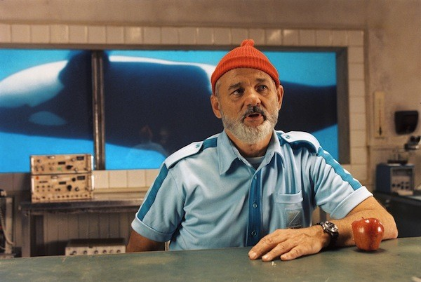 Bill Murray in The Life Aquatic with Steve Zissou (Photo: Criterion Collection)