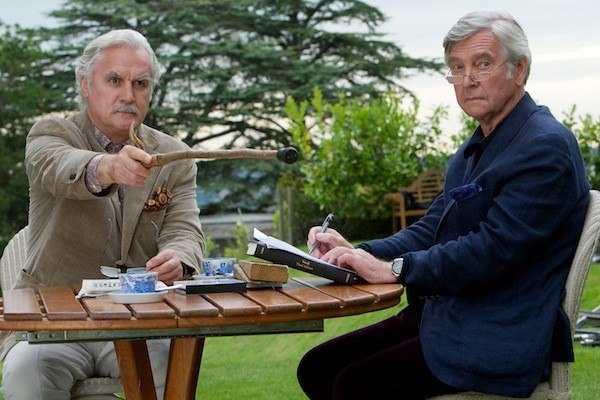 Billy Connelly and Tom Courtenay in Quartet (Photo: The Weinstein Company)