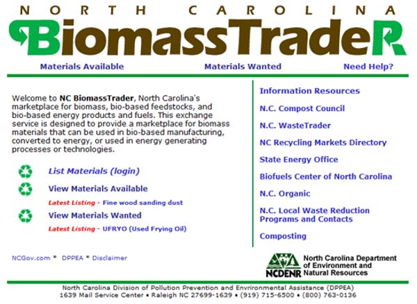 Biomass Trader