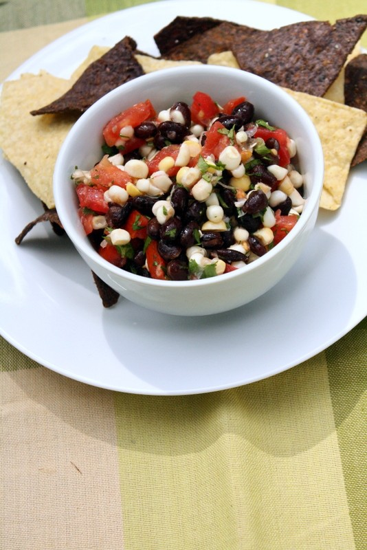 Black Bean Salsa with Cilantro