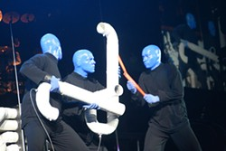 Blue Man Group (Charlotte Bobcats Arena, Nov. 3)