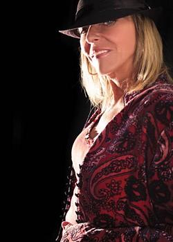 BLUES SINGER: Robin Rogers