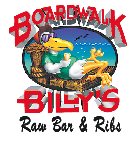 Boardwalk Billy's Gift Certificate: What do you really want in your stocking? Buy $50 worth of Boardwalk Billys certificates and get $10 free! - 1636 Sardis Road North. - 704-814-7427 (Crown Point) - 9005-2 JM Keynes Drive. - 704-503-7427 (University) - Monday-Saturday 11 a.m.-2 a.m., - Sunday 12 p.m.-2 a.m. - www.boardwalkbillys.com - Credit cards accepted