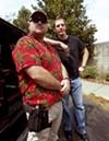 Bondsmen Greg Price (left) and Larry Benton