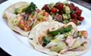 Recipe: Bourbon Shrimp Tacos with Smoky Chipotle Sauce