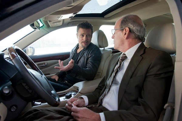 Brad Pitt and Richard Jenkins in Killing Them Softly (Photo: The Weinstein Co.)