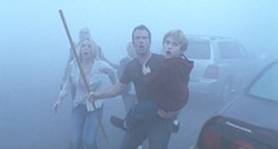 RONN SCHMIDT / THE WEINSTEIN COMPANY - BRAVING THE ELEMENTS: David (Thomas Jane) leads a group through The Mist
