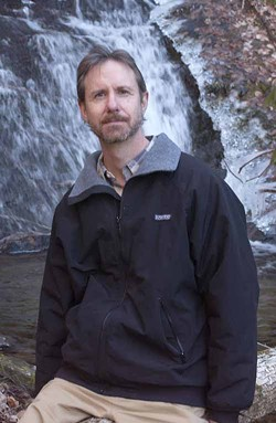BRIGHT STAR: Author Ron Rash