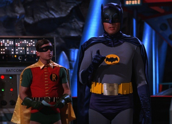 Burt Ward and Adam West in TV's Batman (Photo: Warner Bros.)