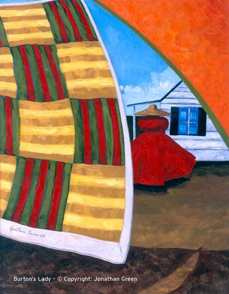 """Burton's Lady"" by Jonathan Green"