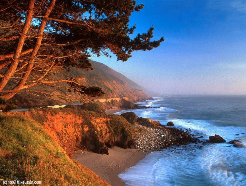 California's Big Sur  / courtesy mikelevin.com