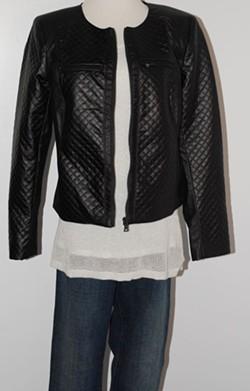 Calvin Klein tank, Ellen Tracy jacket, Ralph Lauren jeans, Orig:$312, WHS:$79