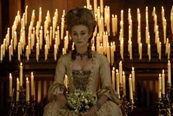 NICK WALL / PARAMOUNT VANTAGE - CANDLES IN THE WIND: Keira Knightley as The Duchess.