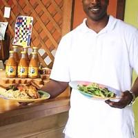 CARIBBEAN KING: Owner Kurt Levine is working hard to re-establish Anntony's.