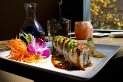 GRANT BALDWIN - Caribbean Roll at Sushi Guru