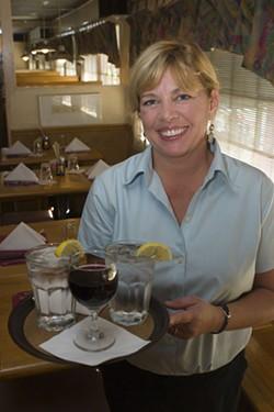 ANGUS LAMOND - Catherine Rabb, owner of Fenwick's