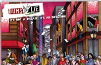 CD Review: Bums Lie's <i>It's Not a Disease, It's an Infection</i>